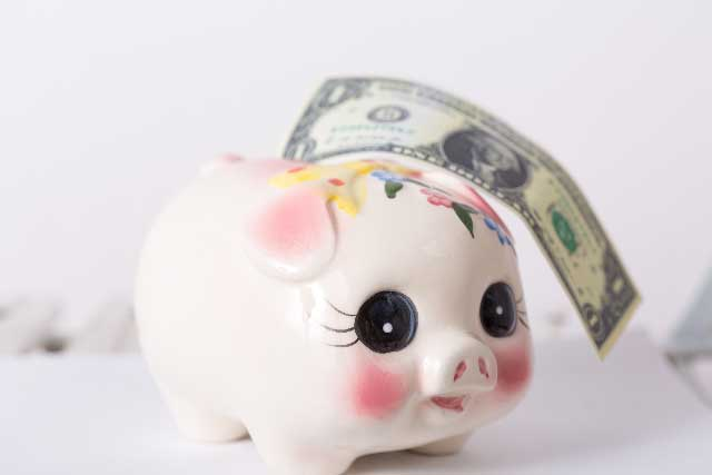 お金が貯まるイメージ