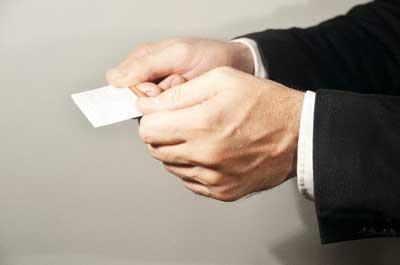 お金に好かれない人の名刺の使い方