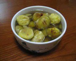 栗の保存食「甘露煮」完成3