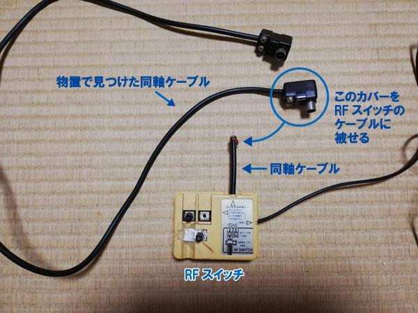 RFスイッチと同軸ケーブル