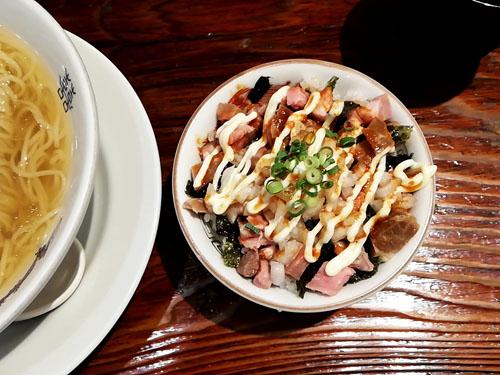 にし乃のマヨチャーシュー丼